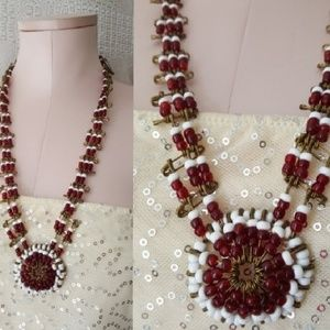 Vintage handmade American Indian inspired necklace